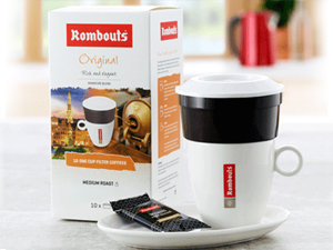 European Coffee Brand 'Rombouts'